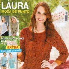 Coleccionismo de Revistas y Periódicos: LAURA MODA DE PUNTO N. 56 (NUEVA). Lote 98394576