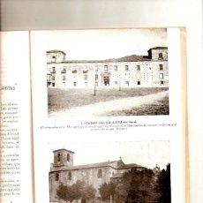 Coleccionismo de Revistas y Periódicos: AÑO 1959 BURGOS ARQUEOLOGIA BURGALESA MONUMENTOS LERMA PALACIO DUCAL COLEGIATA SAN PEDRO. Lote 54771170