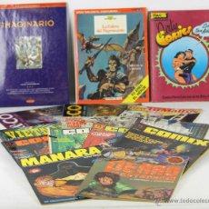 Coleccionismo de Revistas y Periódicos: 7146 - LOTE DE 15 REVISTAS. VV. AA.(VER DESCRIP). VARIAS EDITORIALES. AÑOS 1980-1993.. Lote 53238894