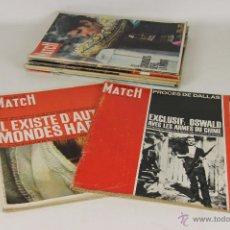 Coleccionismo de Revistas y Periódicos: 6903 - LOTE DE 8 EJEMPLARES REVISTA PARIS MATCH.(VER DESCRIP). VV. AA. 1964/65.. Lote 51539606