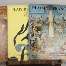 Coleccionismo de Revistas y Periódicos: 6906 - REVISTA PLAISIR DE FRANCE 3 EJEMPLARES. VV. AA. (VER DESCRIP). EDIT. NOËL. 1952-1955.. Lote 51541348