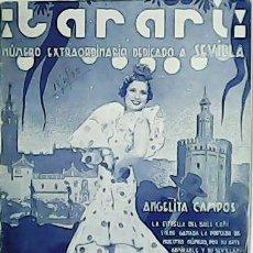 Colecionismo de Revistas e Jornais: ¡TARARÍ! NÚMERO EXTRAORDINARIO DEDICADO A SEVILLA. AÑO VI. Nº 165.. Lote 54522765