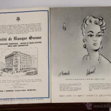 Coleccionismo de Revistas y Periódicos: 6748 - SUIZA. JOURNAL SUISSE D'HORLOGERIE.2 EJEM.(VER DESCRIP). EDIT. SUIZA COMERCIAL. 1944.. Lote 50130516