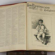 Coleccionismo de Revistas y Periódicos: 6415- LA ILUSTRACION ARTISTICA. VV.AA. EDIT. MONTANER Y SIMON. TOMO XII. 1893.. Lote 49636486