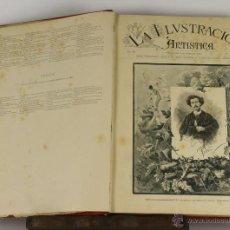Coleccionismo de Revistas y Periódicos: 6423- LA ILUSTRACION ARTISTICA. VV.AA. EDIT. MONTANER Y SIMON. TOMO VII. 1888.. Lote 49638318
