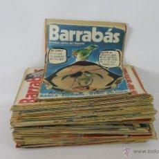 Coleccionismo de Revistas y Periódicos: 5687- BARRABAS. REVISTA SATIRICA DEL DEPORTE. LOTE DE 157 NUMEROS. AÑOS 70.. Lote 48394025