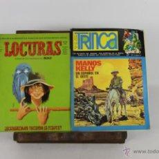 Coleccionismo de Revistas y Periódicos: 5723 - LOTE DE PUBLICACIONES JUVENILES VARIAS EDITORIALES AÑOS 70/80. 10 EJEMPLARES.. Lote 48417689