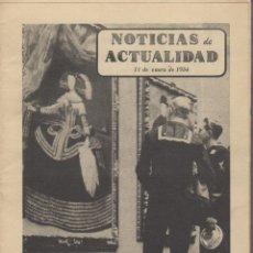 Coleccionismo de Revistas y Periódicos: REVISTA NOTICIAS DE ACTUALIDAD 11 ENERO 1954 - MARINEROS AMERICANOS VISITAN MUSEOS ESPAÑOLES. Lote 54810656