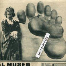 Coleccionismo de Revistas y Periódicos: REVSITA 1970 CONSTRUCCION DEL MUSEO EN FIGUERES DE SALVADOR DALI ULTRALOCAL PARA LO UNIVERSAL MARFIL. Lote 54850427