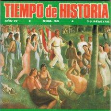Coleccionismo de Revistas y Periódicos: TIEMPO DE HISTORIA Nº 38. ENERO 1978. Lote 54858560