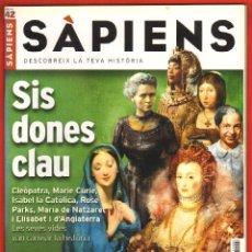 Coleccionismo de Revistas y Periódicos: REVISTA SAPIENS Nº 42 ABRIL 2006 - SIS DONES CLAU. Lote 54860051