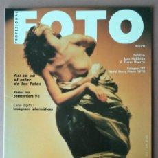 Coleccionismo de Revistas y Periódicos: REVISTA FOTO PROFESIONAL. AÑO XI. Nº 123. MARZO 1993. FOTOGRAFIA. LUIS MALIBRAN.. Lote 54863475