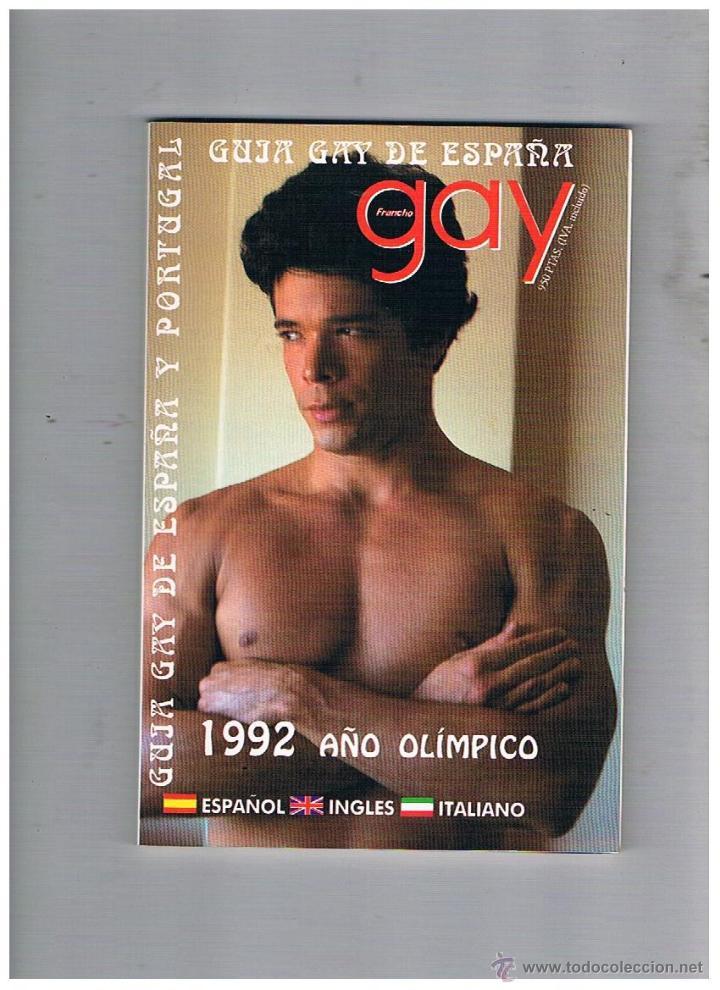 REVISTA GUIA GAY DE ESPAÑA (Coleccionismo - Revistas y Periódicos Modernos  (a partir de