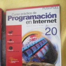 Coleccionismo de Revistas y Periódicos: CURSO PRACTICO DE PROGRAMACION EN INTERNET - Nº20 PUSH/PULL. Lote 54864430