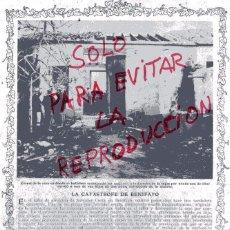 Coleccionismo de Revistas y Periódicos: BENIFAYO 1912 EXPLOSION TALLER HOJA REVISTA. Lote 54868854