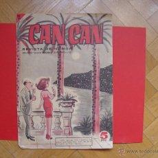 Coleccionismo de Revistas y Periódicos: CAN CAN (Nº 97, 1965) BRUGUERA. REVISTA DE HUMOR. COLECCIONISTA. ORIGINAL. Lote 54875411