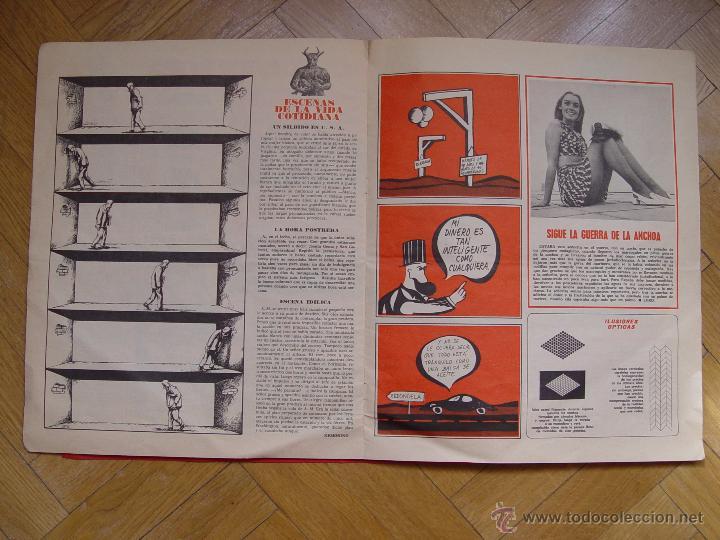 Coleccionismo de Revistas y Periódicos: HERMANO LOBO (Nº 104, 1974) BRUGUERA. Revista de Humor. Coleccionista. Original - Foto 4 - 54876124