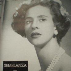 Coleccionismo de Revistas y Periódicos: LUNA Y SOL Nº 198 1960 BALDUINO FABIOLA BÉLGICA FAMILIA REAL LEOPOLDO ASTRID BODAS VALLADOLID BILBAO. Lote 54884656