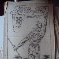 Coleccionismo de Revistas y Periódicos: ANTIGUO PERIODICO MASTIL . LOS CAMPAMENTOS. FRENTE DE JUVENTUDES . Lote 54925381