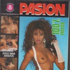 Coleccionismo de Revistas y Periódicos: PASION , REVISTA EROTICA DE LOS AÑOS 90. Lote 54947783