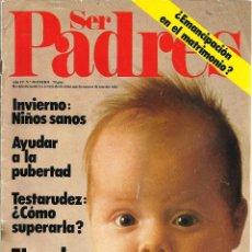 Coleccionismo de Revistas y Periódicos: REVISTA *SER PADRES*, Nº 38, ENERO 1978.. Lote 54952373