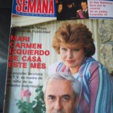 Coleccionismo de Revistas y Periódicos: RECORTE MARI CARMEN IZQUIERDO. Lote 54960377