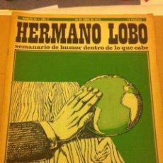 Coleccionismo de Revistas y Periódicos: HERMANO LOBO - 2 REVISTAS. Lote 54978222