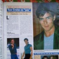 Coleccionismo de Revistas y Periódicos: RECORTE TOM CRUISE. Lote 54981957