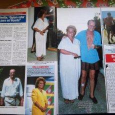Coleccionismo de Revistas y Periódicos: RECORTE CARMEN SEVILLA VICENTE PATUEL TELECUPON. Lote 54986645