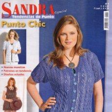 Coleccionismo de Revistas y Periódicos: SANDRA TENDENCIAS DE PUNTO ESPECIAL N. 9 - MODA TRENDY PARA TALLAS GRANDES (NUEVA). Lote 179021466