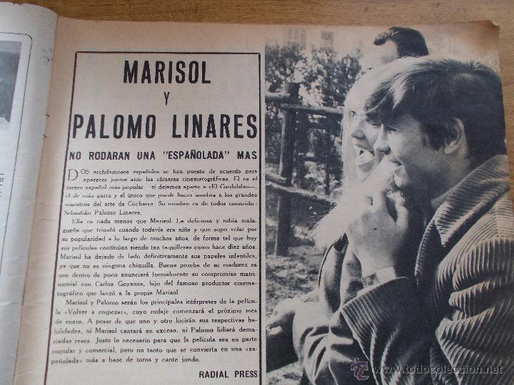 Coleccionismo de Revistas y Periódicos: FRENESI Nº 21..MARISOL Y PALOMO LINARES.. SALVADOR DALI - Foto 2 - 54990483