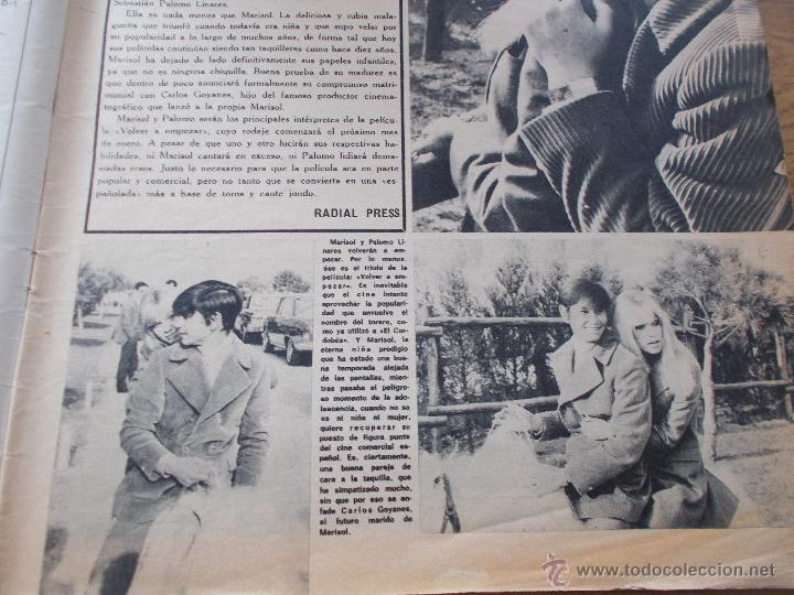 Coleccionismo de Revistas y Periódicos: FRENESI Nº 21..MARISOL Y PALOMO LINARES.. SALVADOR DALI - Foto 3 - 54990483