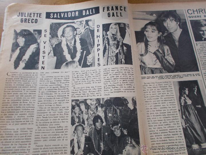 Coleccionismo de Revistas y Periódicos: FRENESI Nº 21..MARISOL Y PALOMO LINARES.. SALVADOR DALI - Foto 4 - 54990483