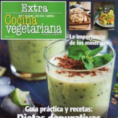 Coleccionismo de Revistas y Periódicos: COCINA VEGETARIANA EXTRA N. 9 - GUIA PRACTICA Y RECETAS: DIETAS DEPURATIVAS (NUEVA). Lote 54991682