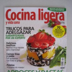 Coleccionismo de Revistas y Periódicos: COCINA LIGERA Y VIDA SANA - Nº 120.. Lote 54997472