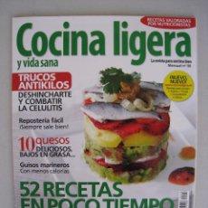 Coleccionismo de Revistas y Periódicos: COCINA LIGERA Y VIDA SANA - Nº 118.. Lote 54997499