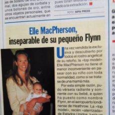 Coleccionismo de Revistas y Periódicos: RECORTE ELLE MACPHERSON. Lote 55010445