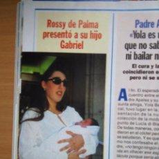 Coleccionismo de Revistas y Periódicos: RECORTE ROSSY DE PALMA. Lote 55010861