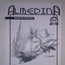 Coleccionismo de Revistas y Periódicos: ALMEDINA-CUADERNOS LITERARIOS-Nº2-ALMERIA 2001-PEQUEÑOS ERRORES-EDUARDO GALLEGO-GUILLEM SÁNCHEZ-9815. Lote 143157782