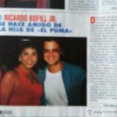 Coleccionismo de Revistas y Periódicos: RECORTE RICARDO BOFILL. Lote 55017829