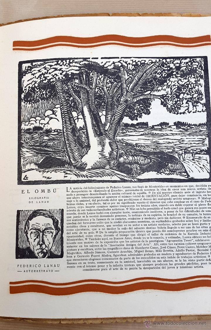 Coleccionismo de Revistas y Periódicos: ORIENTACIÓN - 1928 - BUENOS AIRES - Nº 1 - REVISTA DE ARTE Y CULTURA - Foto 5 - 55021634