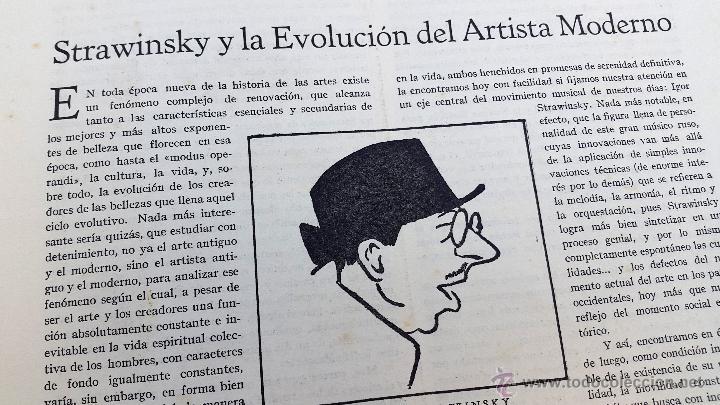Coleccionismo de Revistas y Periódicos: ORIENTACIÓN - 1928 - BUENOS AIRES - Nº 2 - REVISTA DE ARTE Y CULTURA - Foto 5 - 55023285