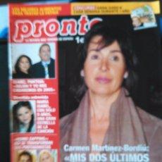 Coleccionismo de Revistas y Periódicos: RECORTE CARMEN BORDIU MARI DUQUESA DE CADIZ MARTINEZ. Lote 55027690