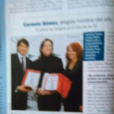 Coleccionismo de Revistas y Periódicos: RECORTE CARMELO GOMEZ. Lote 55027733