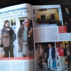 Coleccionismo de Revistas y Periódicos: RECORTE CARMEN MARTINEZ BORDIU. Lote 55027775