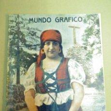 Coleccionismo de Revistas y Periódicos: REVISTA AS MUNDO GRAFICO, JESUSA LAZCANO, Nº 385, MARZO 1919. Lote 55029552