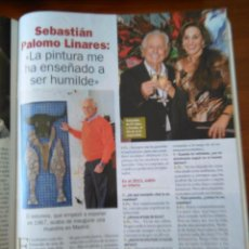 Coleccionismo de Revistas y Periódicos: RECORTE SEBASTIAN PALOMO LINARES. Lote 55054862
