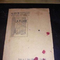 Coleccionismo de Revistas y Periódicos: REVISTA ALBUM D'AFFICHES LA PLUME 1 MARS 1900 , HENRI RIVIERE , ALPHONSE MUCHA , PAUL BETHON. Lote 55057441