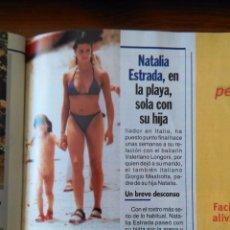 Coleccionismo de Revistas y Periódicos: RECORTE NATALIA ESTRADA. Lote 55058140