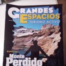Coleccionismo de Revistas y Periódicos: GRANDES ESPACIOS. TURISMO ACTIVO. MONTAÑISMO. N 174 ESPECIAL MONTE PERDIDO. Lote 55069230